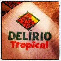 Photo taken at Delírio Tropical by Marcelo S. on 1/8/2013