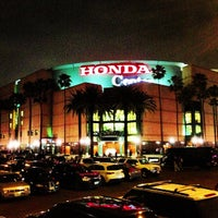 Photo taken at Honda Center by Ibrahim S. on 2/19/2013