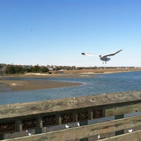 Photo taken at Murrell's Inlet Marshwalk by Baylee S. on 3/29/2013