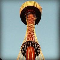 Photo taken at Sydney Tower Eye by Simon C. on 12/12/2012