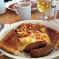 Photo taken at John Papas Cafe by Natalie on 7/7/2013