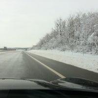 Photo taken at Autocesta A9 by seni b. on 2/22/2013