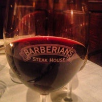 Photo taken at Barberian's Steak House by Christine P. on 2/24/2013
