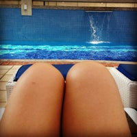 Photo taken at Piscina Cond. Via Bella by Érica M. on 2/9/2013
