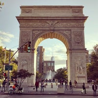 Photo taken at Washington Square Park by Andrew L. on 9/22/2013