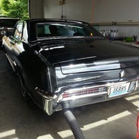 Photo taken at Mark's Auto Detail by Fred W. on 6/26/2013