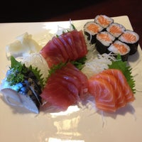 Photo taken at Akira Sushi Bistro by Jessica R. on 5/6/2013