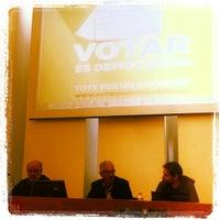 Photo taken at Universitat de Girona - Facultat de Dret by Anna C. on 3/6/2014