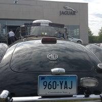 Photo taken at Jaguar Hartford by DB on 5/18/2013