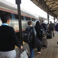 Photo taken at Hartford Union Station (HFD) - Amtrak by DB on 4/26/2013