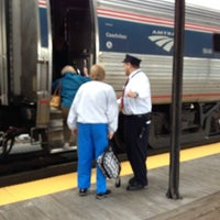 Photo taken at Hartford Union Station (HFD) - Amtrak by DB on 9/30/2012