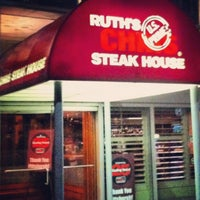 Photo taken at Ruth's Chris Steak House by Sarah G. on 9/15/2012