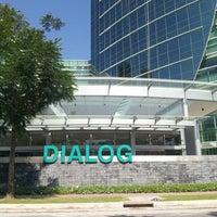 Photo taken at Dialog Tower by Rosdi S. on 3/25/2014