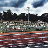 Photo taken at Ramsey High School Football Field by Tanya R. on 8/23/2014