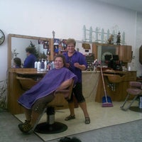Photo taken at The Hair Line by Megan H. on 7/16/2013