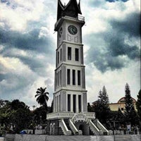 Photo taken at Jam Gadang by Budi H. on 10/16/2012