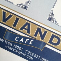 Photo taken at The Viand Diner & Bar by Simon G. on 3/24/2013