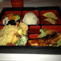 Photo taken at Sushi Den Teppanyaki by Jonathan W. on 2/10/2013