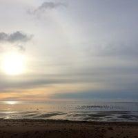 Photo taken at пляж Смолячково by Anna Z. on 10/2/2016