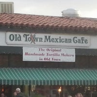 Photo taken at Old Town Mexican Cafe by Heather B. on 4/6/2013