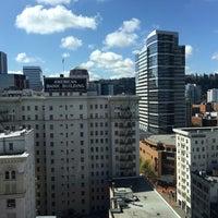 Photo taken at Portland Marriott City Center by Ankit K. on 4/15/2017