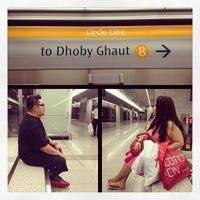 Photo taken at Dhoby Ghaut MRT Interchange (CC1/NE6/NS24) by John M. on 7/26/2013