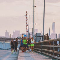 Photo taken at John Byrne-Greenpoint Avenue Bridge by Shaffer on 8/15/2014