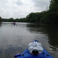 Photo taken at Fox River by Steven P. on 5/16/2015