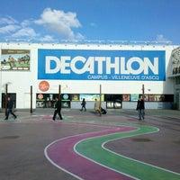 Photo taken at Decathlon by Tibor C. on 11/9/2012