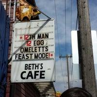 Photo taken at Beth's Café by Julie G. on 3/30/2014