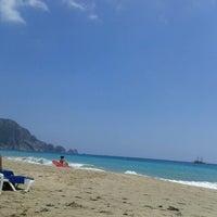 Foto scattata a Kleopatra Plajı da Elerki E. il 5/26/2013