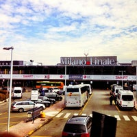 "Photo taken at Aeroporto di Milano Linate ""Enrico Forlanini"" (LIN) by Kaspars T. on 3/14/2013"