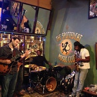 Photo taken at The Spotted Cat Music Club by Bryan B. on 12/3/2012