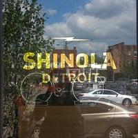 Das Foto wurde bei Shinola Store Detroit von Jamila B. am 8/24/2013 aufgenommen