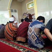 Photo taken at Masjid Nurul Iman TVRI by Hamdi on 3/21/2014