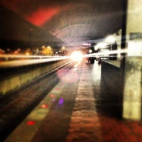 Photo taken at Fort Totten Metro Station by Toby P. on 1/13/2013