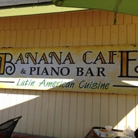 Photo taken at Banana Cafe and Piano Bar by Toby P. on 10/21/2012