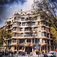 Photo taken at La Pedrera (Casa Milà) by Dima K. on 4/3/2013