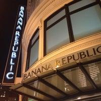 Photo taken at Banana Republic by Moonjoo P. on 10/14/2012