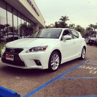 Photo taken at DCH Lexus of Santa Barbara by Jesse A. on 8/2/2014