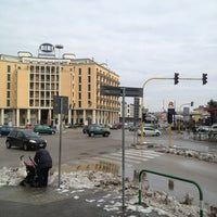 Photo taken at Piazzale Stanga by Mister R. on 2/14/2013