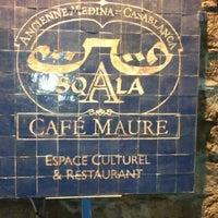 Photo taken at La Sqala: Café Maure by Leith M. on 12/6/2012