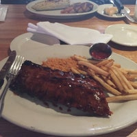 Photo taken at Wood Ranch BBQ & Grill by pearjok p. on 6/1/2015