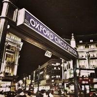 Photo taken at Oxford Circus London Underground Station by David B. on 2/7/2013