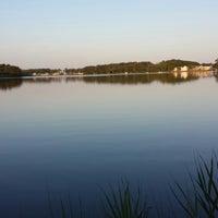 Photo taken at Mills Creek Lake by Jessie H. on 7/15/2013