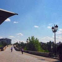 Foto tirada no(a) Ponte Romana de Ourense por Xavi L. em 9/4/2015
