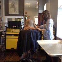 Photo taken at Helmet Hairworx by Maria L. on 9/28/2013