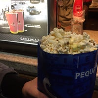 Photo taken at Cinemark by Marta N. on 4/30/2017