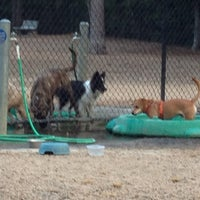 Photo taken at Bear Branch Dog Park by Stephanie D. on 8/6/2013