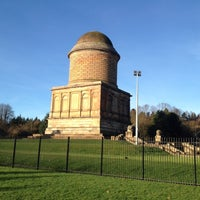 Photo taken at Hamilton Mausoleum by Chris J. on 12/1/2013